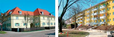 Wohnquartiere: Damaschkeweg und Humboldtstraße